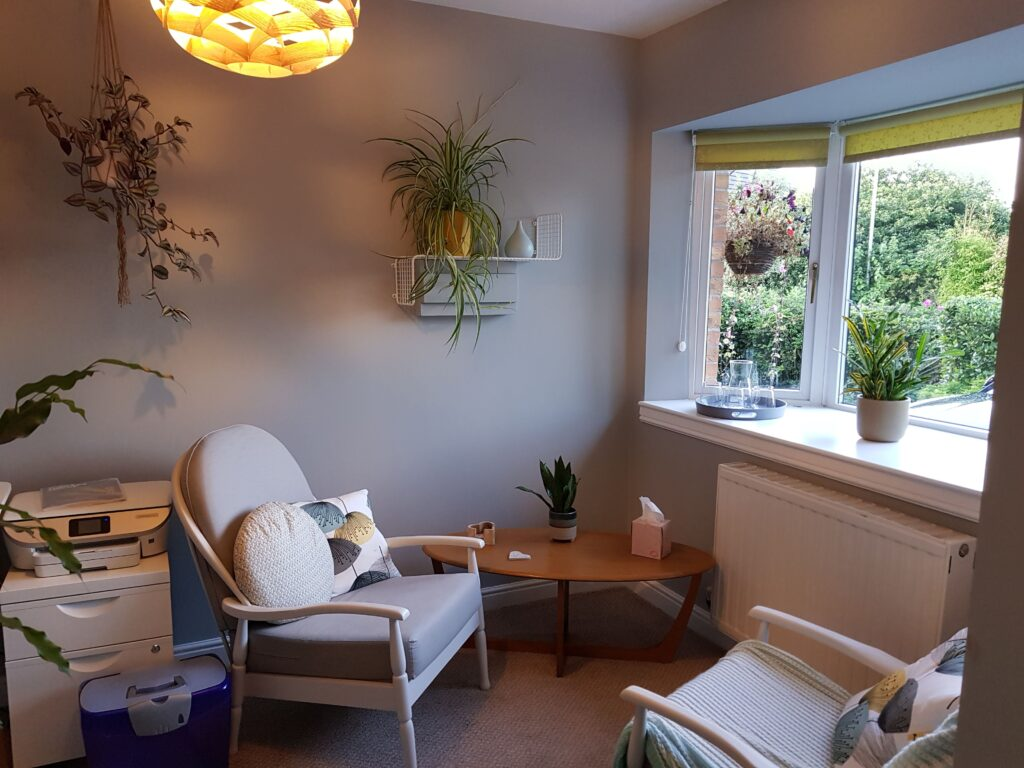 Online counselling - my office